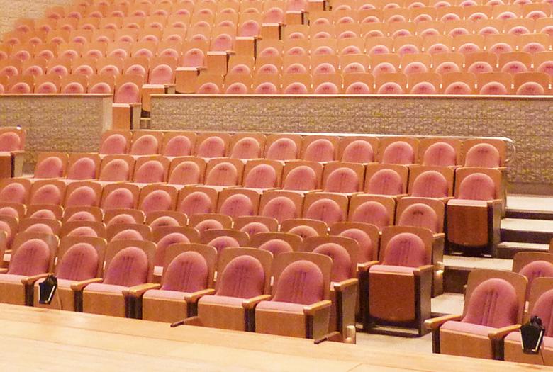 若葉文化ホール客席