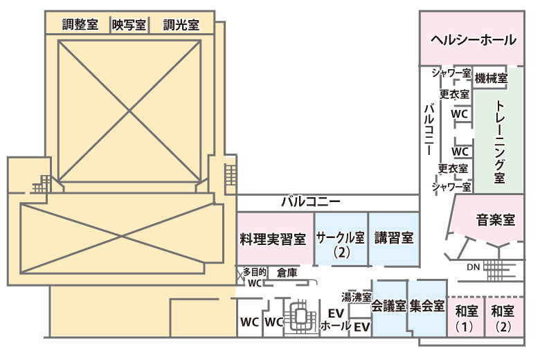 千城台コミュニティセンター3F